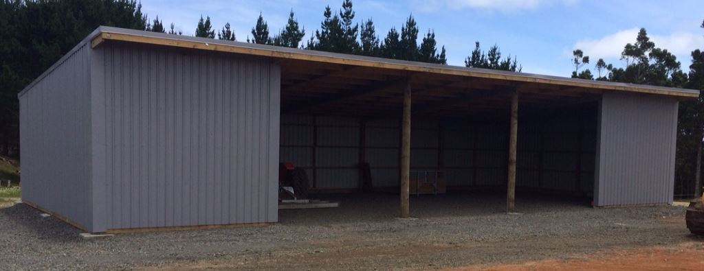 3 bay shed farm sheds buildings barns cattle sheep for 3 bay shed