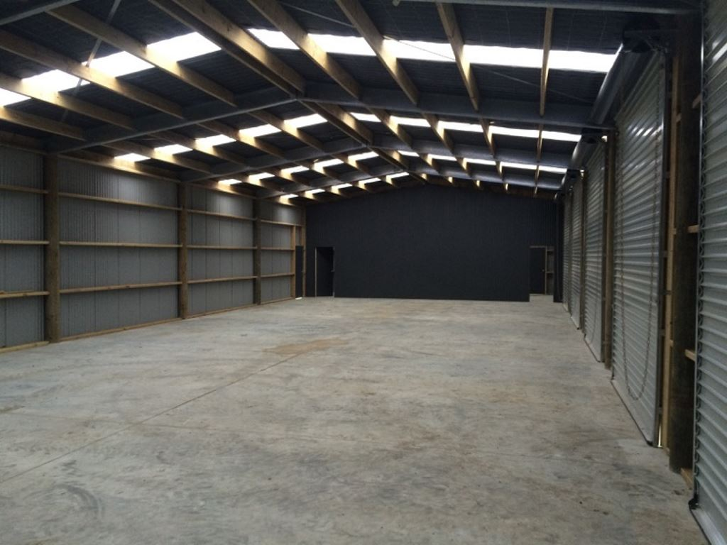Multi Bay Commercial Farm Shed