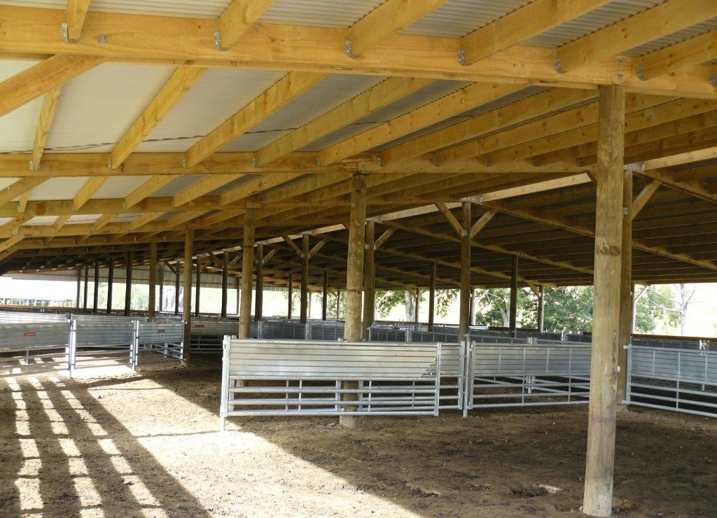 Covered Yards & Cattle Yard