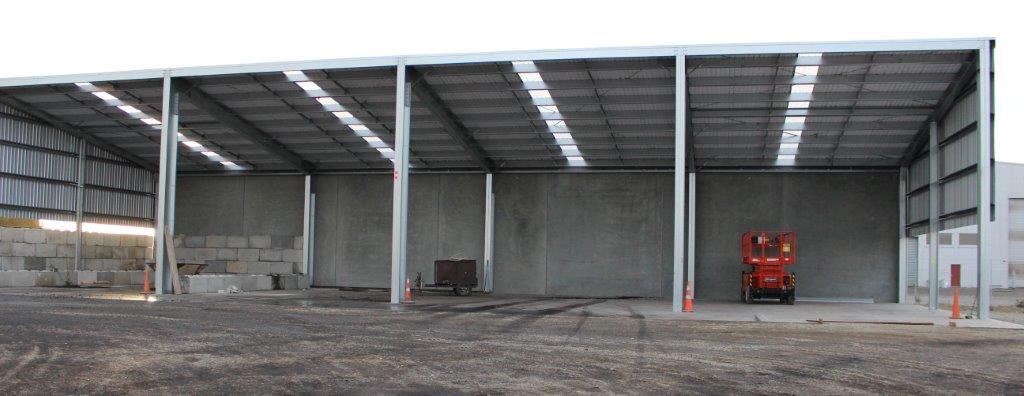Large Concrete Sheds