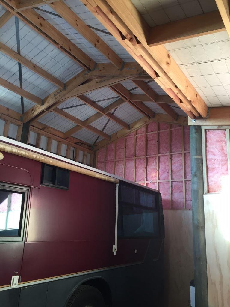 Habitable Liveable Shed Ceiling
