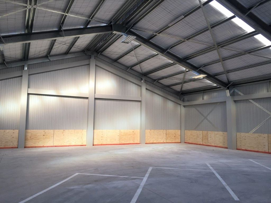 Car Storage in Commercial Building