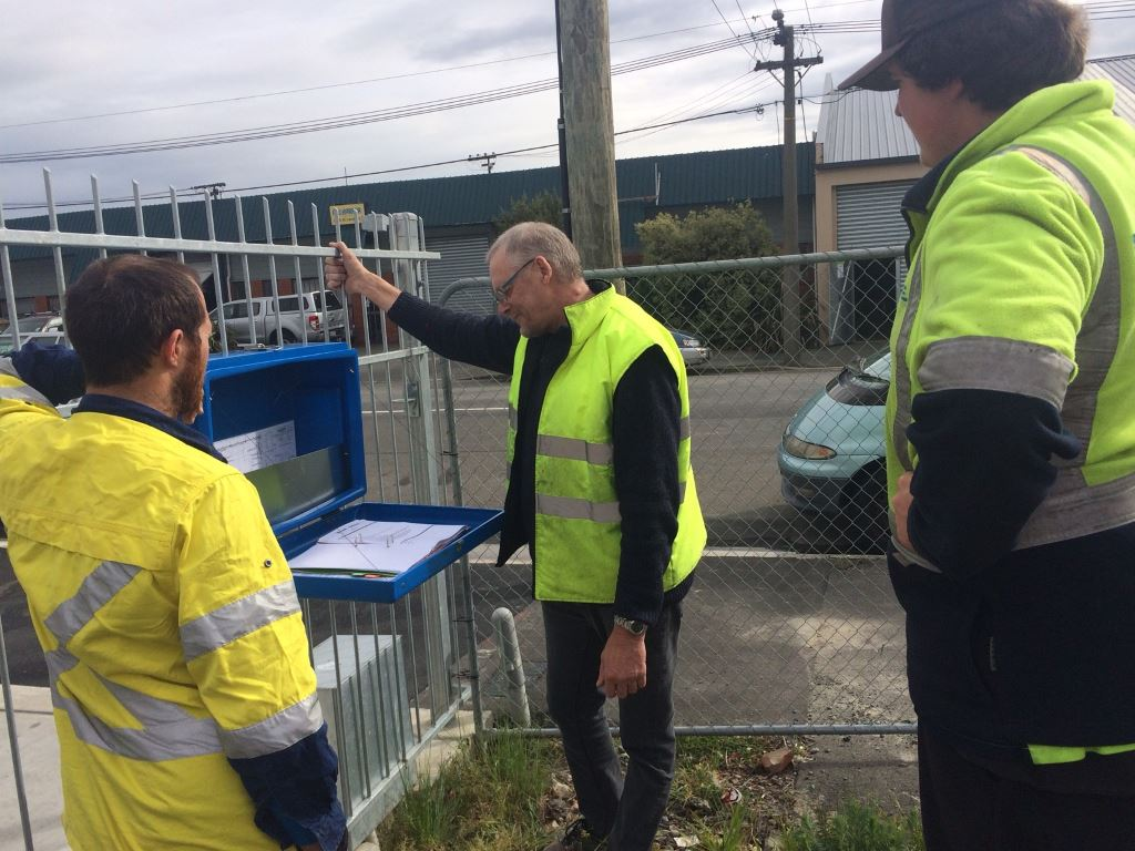 Inspection on Commercial Site